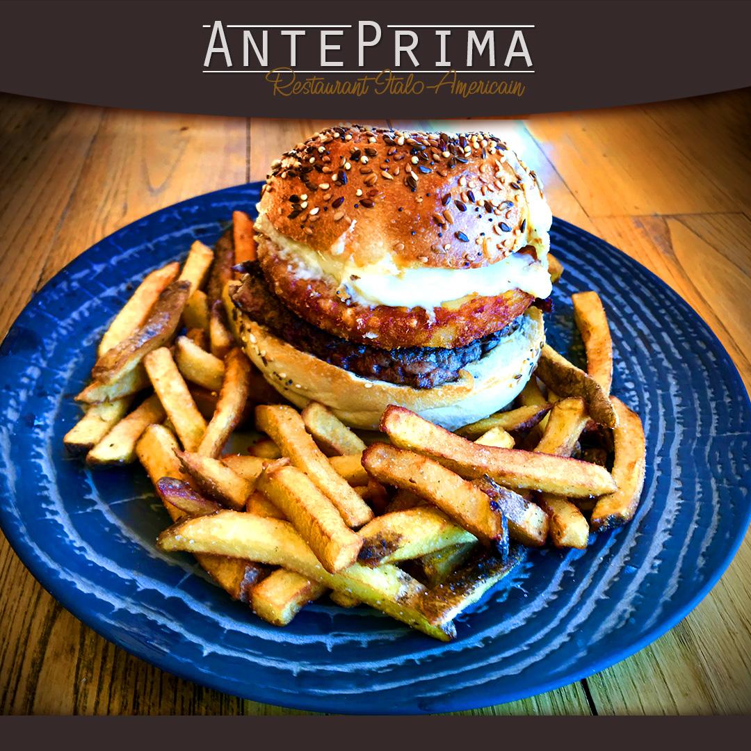 Restaurant Américain Nimes - AntePrima - Burger French connection