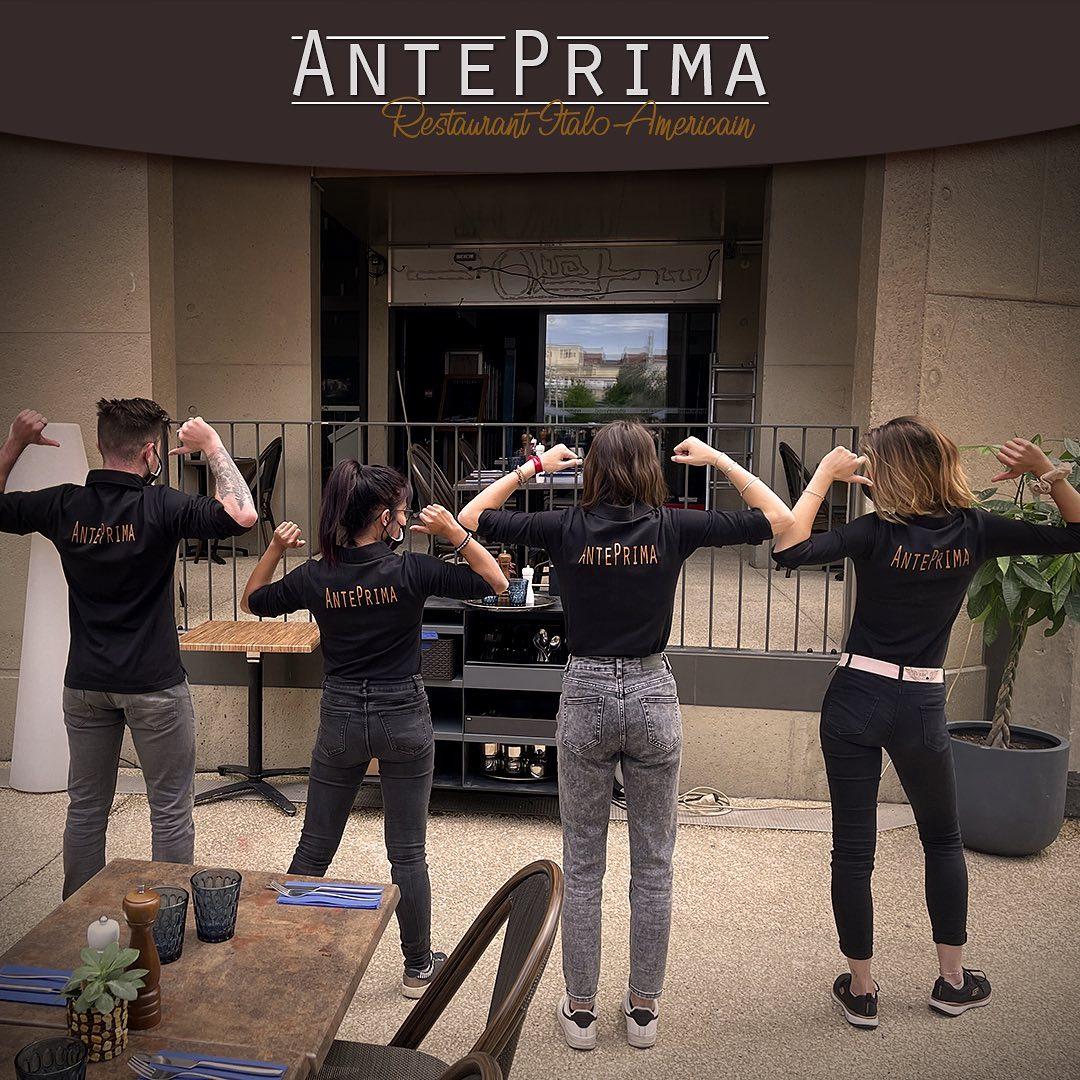Team AntePrima restaurant à Nîmes